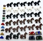 LEGO HORSES AND ACCESSORIES CASTLE KNIGHT KINGDOMS PARTS SADDLES MORE YOU PICK!!