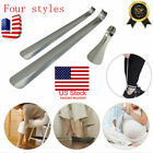 6'-20' Long Handled Metal Shoe Horn Lifter Stainless Steel with Hanging Hole USA