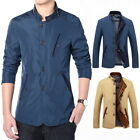 Men's Jacket Street Jackets Streetwear Fashion Outwear Windproof Casaul Coat