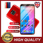 5.8'' M20 Pro 4g+64g Face Id Unlocked Android 8 Core Dual-sim Mobile Smart Phone