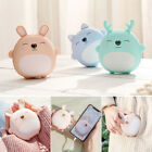 2In1Cute USB Rechargeable Hand Warmer Pocket Portable Power Bank Electric Heater