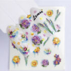 nail water transfer decals flowers mixed patterns nail art stickers decor design