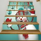 Christmas Stair Stickers Multi Mural Landscape Wallpaper Decals Christmas tree