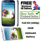 Brand New Samsung Galaxy S4 Gt-9500 16gb White Black Unlocked Android Smartphone