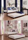 Universal Daybed Trundle Metal Frame Rolling Away Pull Out Twin Size Guest Bed