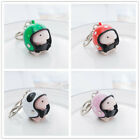 Cute Squishy Ding Ding With Helmet Keychain Novelty anti-stress Toy adults