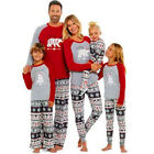 Christmas Family Matching Pyjamas PJS Set Bear Snowflake Sleepwear Nightwear UK