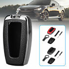 For Toyota Camry CHR RAV4 2018-2019 Smart Car Key Leather Case Cover Key Holder