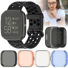 TPU Screen Protector Case For Fitbit Versa 2 All-Around Protective Accessories