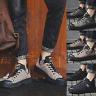 Fashion Men's Boots Casual Canvas Winter Windproof Shoes Sports Warm Boots GIFT