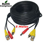 BNC CCTV Camera Cable Video Phono Mic Power Cable Data Power Extension Cable Lot