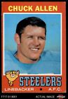1971 Topps #6 Chuck Allen Steelers VG/EX $0.99 USD on eBay