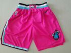 New Season Miami Heat City Edition Pink Basketball Shorts Size: S-XXL on eBay