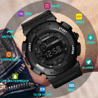Luxury Mens Boys Digital LED Watch Date Sport Outdoor Electronic Wrist Watches image