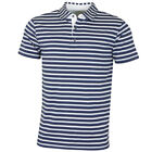 Bobby Jones Mens Rule 18 Tech Boardwalk Multi Stripe Golf Polo Shirt 57% OFF RRP