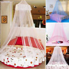 Baby Infant Round Dome Mosquito Net Toddler Bed Crib Canopy Netting White Babe image