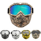 Detachable Motorcycle Tactical Face Mask Moto Wind Dust Proof Cycling Helmt Mask