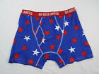 Duluth Trading Co Buck Naked Performance Stars Red White Blue Short Boxer Briefs