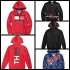 Tommy Hilfiger Toddler Boys Camo Graphic-Print Full-Zip Hooded Sweatshirt New