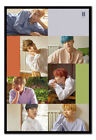 BTS Group Collage Poster FRAMED CORK PIN BOARD With Pins   UK Seller