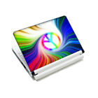 """Peacock Feathers Universal DIY Sticker Skin Cover For 10"""" 10.1"""" Laptop Notebook"""