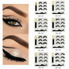Magnetic Liquid Eyeliner False Eyelashes Set Waterproof Long Lasting Eyelash 02