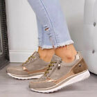 Womens Sports Shoes Casual Trainers Sneakers Ladies Lace Up Sport Shoes UK