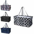 Wireframe Utility All Purpose Tote Carry Bag for Shopping Picning Travel Laundry
