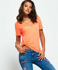 Superdry Womens Burnout Vee T-Shirt <br/> RRP £16.99 - BUY FROM THE OFFICIAL SUPERDRY EBAY STORE