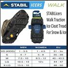 STABILicers Walk Stabilicers Ice Traction Cleat for Snow and Ice - SIZES - COLOR