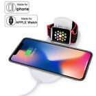 3In 1 Qi Wireless Charger Fast Charging Pad For iWatch iPhone 11 Pro Max XR XS