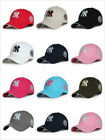 Basic NY New York Yankees Baseball Cap Classic Embroidered Snapback Sun Ball Hat