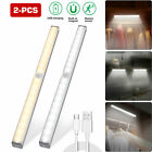 20 LED Wireless Under Cabinet Light USB Rechargeable Motion Sensor Closet Light