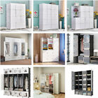 Kyпить Bedroom Wardrobe Closet Armoire Storage Organizer Cabinet with Doors Hangers на еВаy.соm