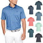 Under Armour Mens 2019 Performance 2.0 Divot Stripe Golf Polo Shirt 45% OFF RRP