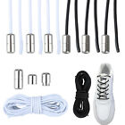 3 Pair No Tie Elastic Tie-less Shoe Laces Strings For Sneakers Kids Adults Shoes