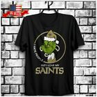 FREESHIP I Hate People But I Love My New Orleans Saints Grinch NFL T-Shirt S-6XL $22.99 USD on eBay