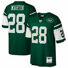 CURTIS MARTIN New York NY JETS Grn MITCHELL  NESS Legacy THROWBACK Jersey S 2XL