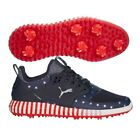 Limited Edition Puma IGNITE PROADAPT CAGED STAR SPANGLED GOLF SHOES Pick Size
