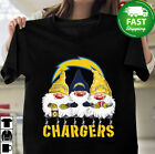 Gnomies Los Angeles Chargers Christmas Tshirt Funny Sport Holiday Gift Christmas $19.99 USD on eBay