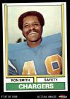 1974 Topps #45 Ron Smith Chargers San Diego St 7 - NM $1.2 USD on eBay