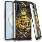 Hybrid Slim Case For Samsung NOTE 10 / 10 PLUS Phone Cover - TIGER CROWN