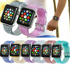 Clear Sports Glitter Band for Apple Watch Series 1/2/3/4/5 iWatch Bracelet Strap image