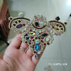 Bridal Wedding Shoes Clips Embroided Rhinestones Shoe Applique Flatback Sew On