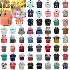 Mummy Maternity Nappy Diaper Bag Large Capacity Baby Kid Travel Backpack Handbag
