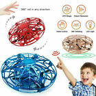 Mini Drone Infrared Sensor UFO Flying Toy Induction Aircraft Quadcopter Kid R9Z6