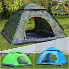 4 Persons Automatic pop-up Camping Tent Outdoor Hiking Waterproof Fishing Hiking