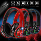 Wireless Noise Cancelling Headphone HIFI Bluetooth Earphone Over the Ear Headset