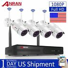 1080P Wireless WIFI Camera System Outdoor Home Security CCTV Night Vision 4CH HD