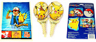 Pokemon Party Supplies ~ Loot Bags, Print Decorations, Balloons FREE SHIPPING!